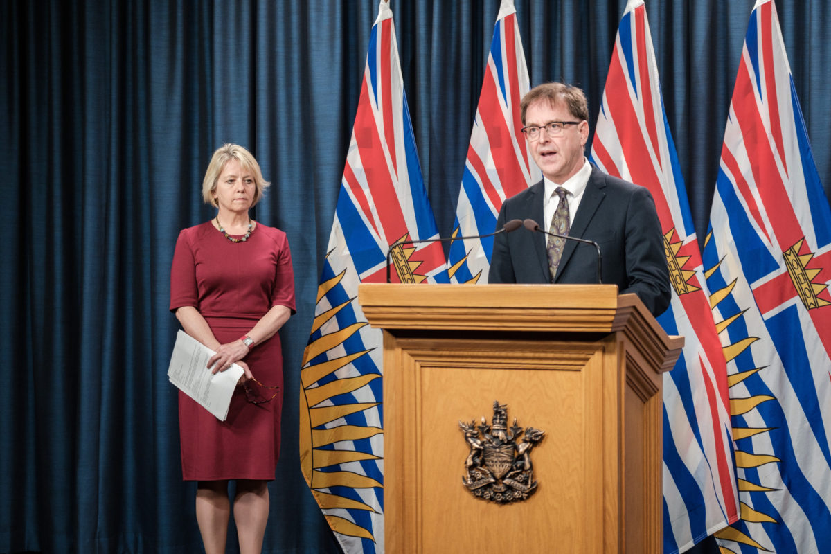 B.C. health officials report 121 new COVID-19 cases, 2 new cases in Island Health