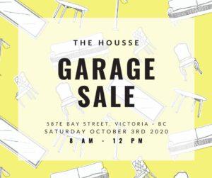 The HOUSSE GARAGE SALE @ The HOUSSE GARAGE SALE