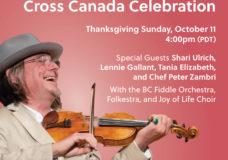 Daniel Lapp's Joy of Life Cross Canada Celebration