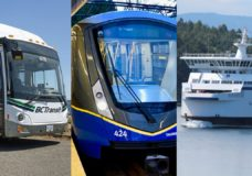 Over $1B in government funding divided between BC Transit, BC Ferries and TransLink