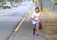CHEK Upside: Meet the 9-year-old Esquimalt boy who wants to be Terry Fox