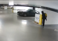 VicPD searching for suspect that stole $2000 worth of property from underground parkade
