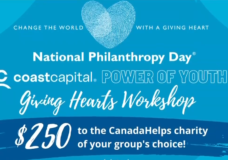 Upcoming workshop will provide youth with $250 gift card that can be given to charity of their choice
