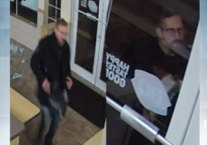 Oak Bay PD searching for suspect who allegedly stole ice cream bars from Dairy Queen