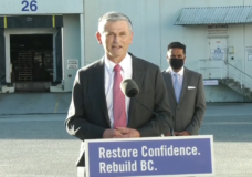 BC Liberal leader Andrew Wilkinson says he'll eliminate PST for a year if elected