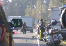 Pedestrian struck and killed along highway near Nanaimo airport