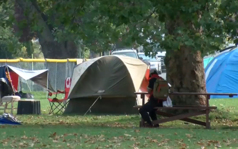 Province, City of Victoria sign agreement to end encampments by April 30