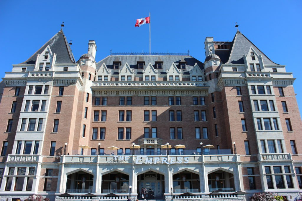 Victoria's Empress Hotel to close for 80 plus days next year