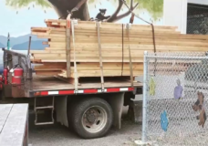 Wood destined for school projects stolen in Comox