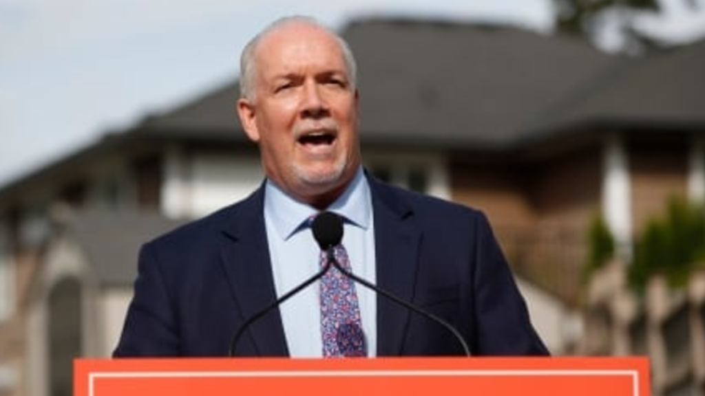 B.C. NDP leader 'disappointed' in high profile candidate as chiefs call for removal