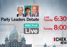 The latest developments form the B.C. leaders televised election debate