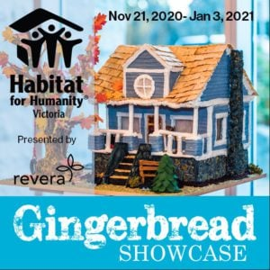 12th Annual Gingerbread Showcase @ Various Locations Across Greater Victoria/ Sidney