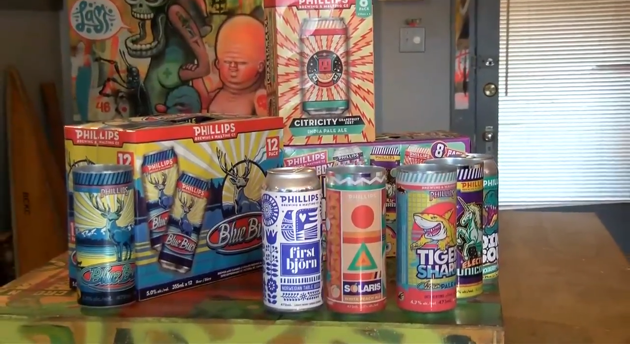 CHEK Upside: Phillips Brewing label artist branching out with Madrona Gallery exhibit