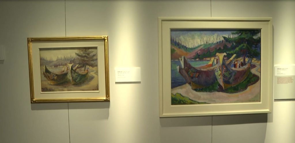New Emily Carr exhibit opens at the Royal BC Museum