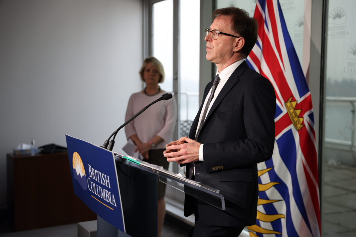 B.C. announces 335 new cases of COVID-19, including 4 in Island Health