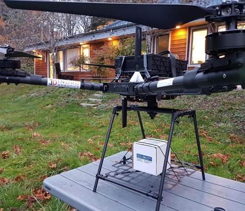 InDro Robotics - Drone delivery