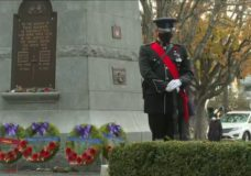 Drastically smaller Remembrance Day ceremonies held on Vancouver Island as pandemic continues