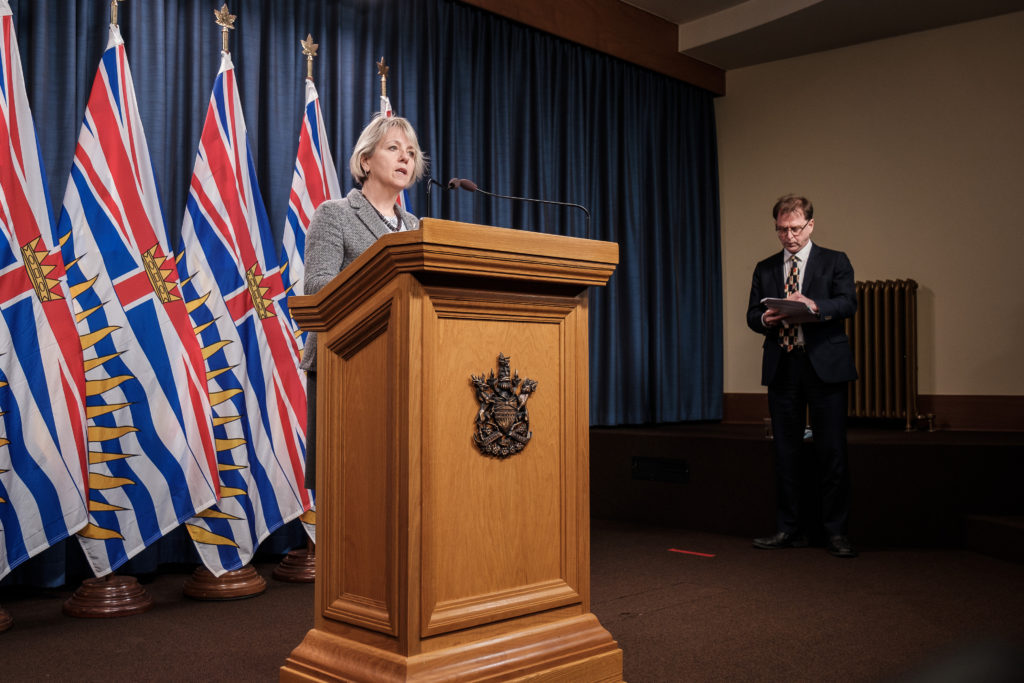 B.C. sets another daily record with 762 new COVID-19 cases, including 20 in Island Health