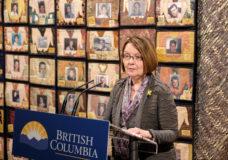 B.C. Liberals announce Shirley Bond as interim party leader