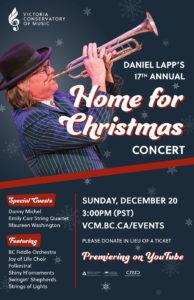 Daniel Lapp's Home for Christmas Online Concert @ YouTube
