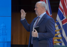 Premier John Horgan unveils his cabinet, with 20 ministers
