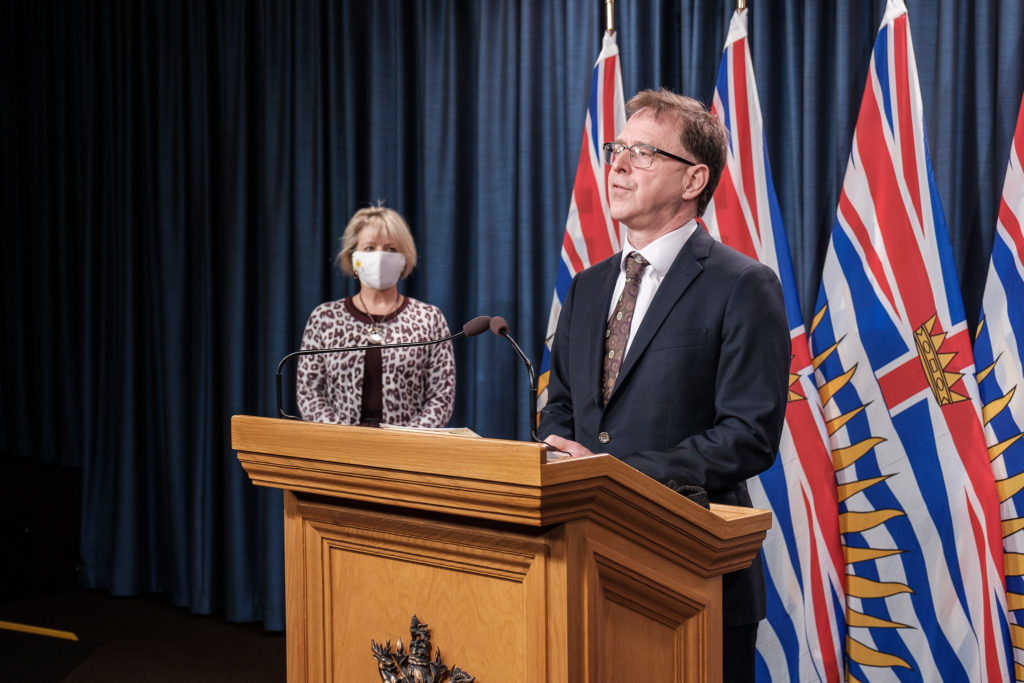 B.C. reports more than 500 new cases of COVID-19, 12 deaths