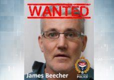 VicPD seeks help to find high-risk offender James Beecher