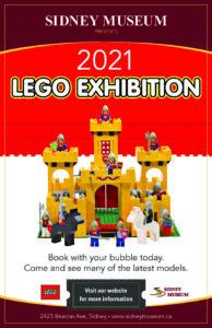 LEGO Brick Exhibition @ Sidney Museum
