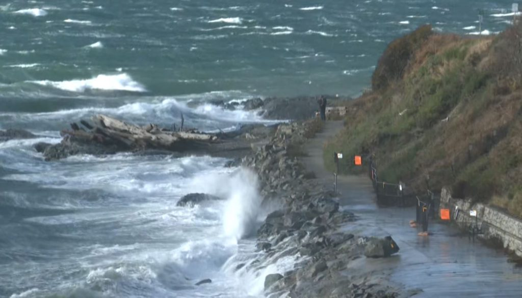 Wind warnings reissued for parts of Vancouver Island