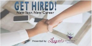 Get Hired! New Year, New Career @ Online