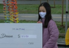 11-year-old girl creates thousands of paper cranes, raises more than $31,000 for charity