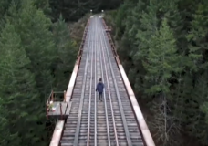 'I'm angry and I'm appalled': Victims' families join call for safety railings at Goldstream trestle