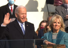 Sighs of relief accompany a sense of unease as Biden takes oath, Trump departs D.C.