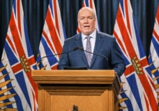 Premier John Horgan urges British Columbians to stay close to home this Family Day weekend