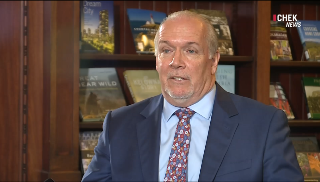 """Premier Horgan says he's """"open to"""" covering mental health under MSP, but warns of costs"""
