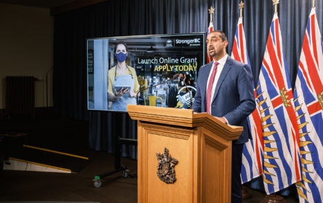 B.C. to pay millions to help small businesses apply for grants