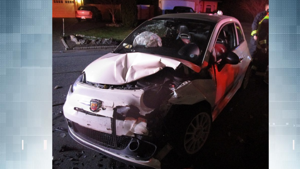 Uninsured motorist facing impaired driving charges after crashing into parked cars