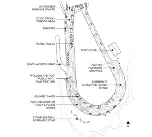 Clover Point option 1