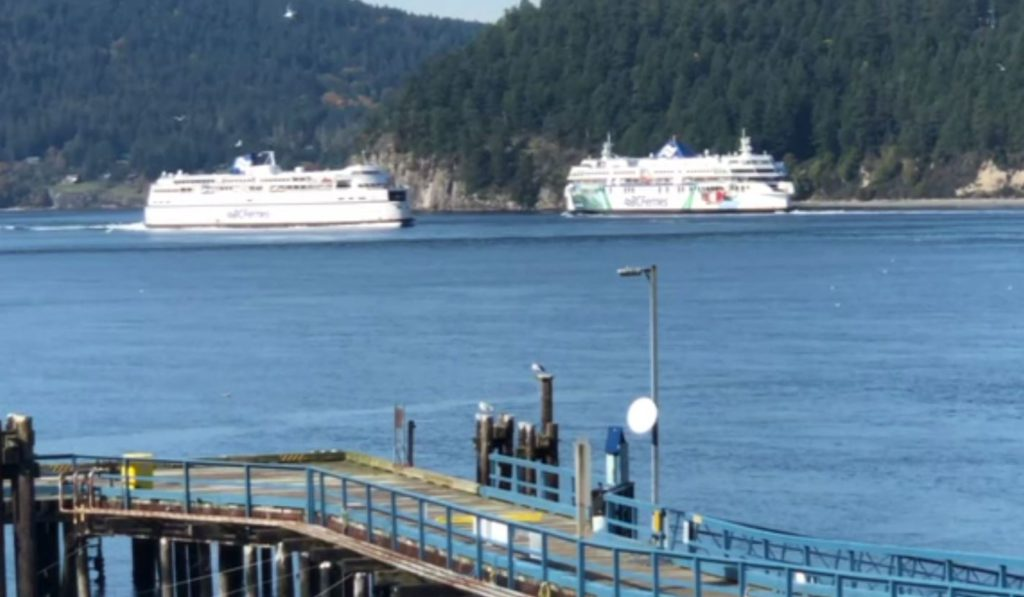 BC Ferries announces 42 per cent passenger drop in latest quarter update