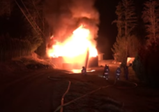 Firefighters extinguish 'stubborn' fire in Cherry Creek