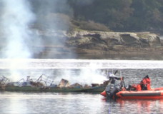 RCMP: Woman presumed dead after boat catches fire in Ladysmith