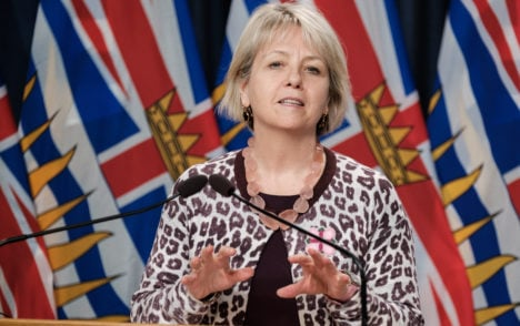 Dr. Bonnie Henry appointed to the Order of B.C.