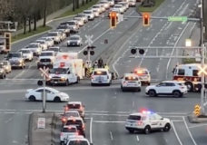 Pedestrian struck in a hit-and-run at busy Langford intersection, police investigating