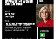 Trailblazers: Empowering Women virtual event