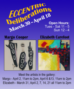 Margo Cooper and Elizabeth Carefoot at Gage Gallery @ Gage Gallery Arts Collective