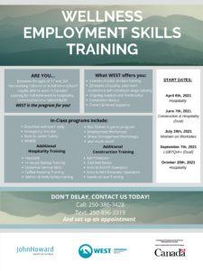 Wellness Employment Skills Training @ John Howard Society of Victoria