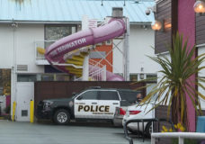 Child taken to hospital with life-threatening injuries following incident at hotel pool