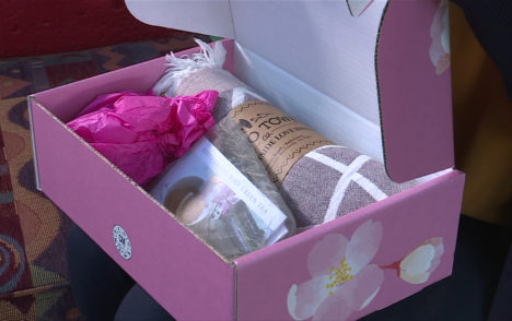 'Kits for Compassion' gift box fundraiser supports Victoria Hospice