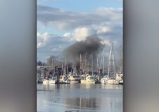Fire at Crofton Harbour, delay to BC Ferries' service
