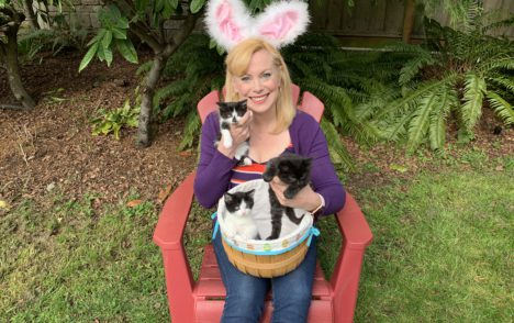 Pet CHEK: Fur balls Aries, Pags & Mini Moo of the Easter litter